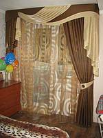 Жесткий ламбрекен для спальни (Новая Каховка)