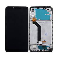 Дисплей (экран) для Xiaomi Redmi S2 (Redmi Y2) с сенсором (тачскрином) и рамкой черный