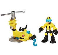 Аксель Фрейзер с микрокоптером Боты спасатели - AxelMicrocopter, Rescue Bots, Hasbro - 138280, фото 1