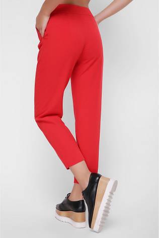 """Укорочені жіночі червоні штани """"Christine"""", фото 2"""
