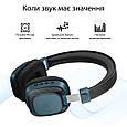Bluetooth Наушники  Melody-BT Blue, фото 3