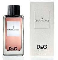 Женская туалетная вода Dolce & Gabbana 3 L`Imperatrice 100 мл
