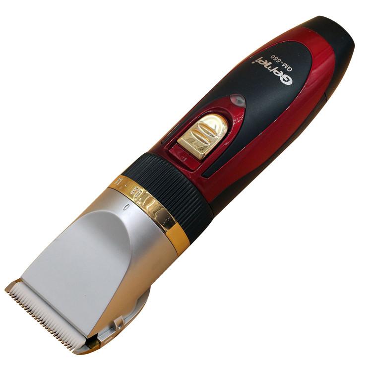 Беспроводная Машинка для стрижки волос Gemei GM-550 + аккумулятор