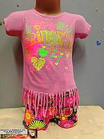 Летний детский костюм   для девочки 1 - 3  года