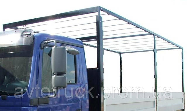 Механизм сдвижной крыши в комплекте. Длина 3,49-4,07 метра.