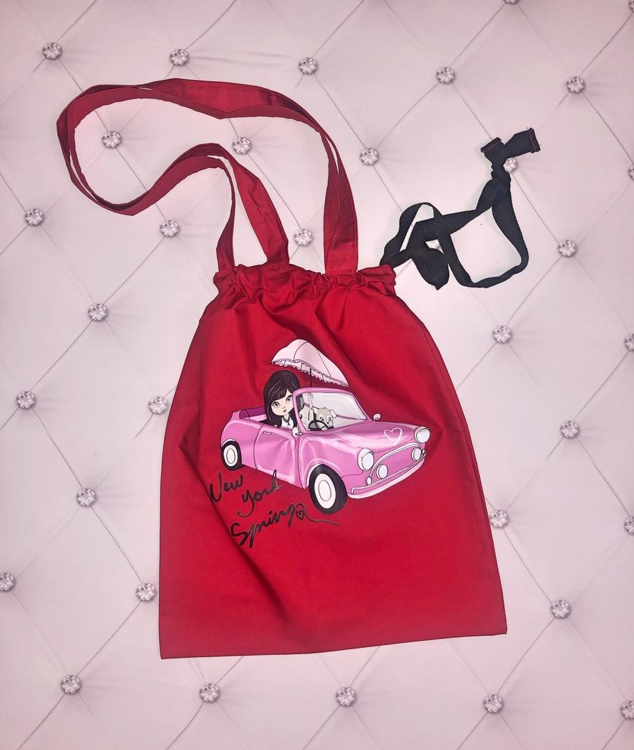 """Стильная летняя женская сумка-торба """"MUST HAVE"""" с принтом (10 цветов)"""