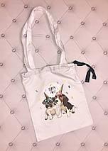 """Стильная летняя женская сумка-торба """"MUST HAVE"""" с принтом (10 цветов), фото 3"""
