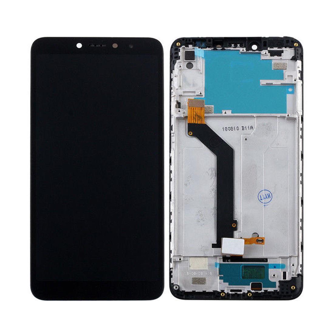 Дисплей (экран) для Xiaomi Redmi S2 (Redmi Y2) с сенсором (тачскрином) и рамкой черный Оригинал