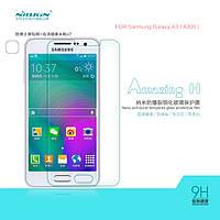 Защитное стекло для Samsung Galaxy A3 A300 - Nillkin Glass Screen (H)