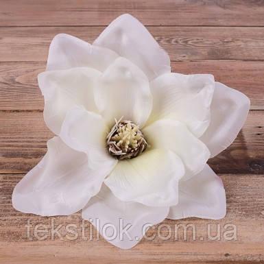 Головка Магнолии белая17 см  Цветы искусственные