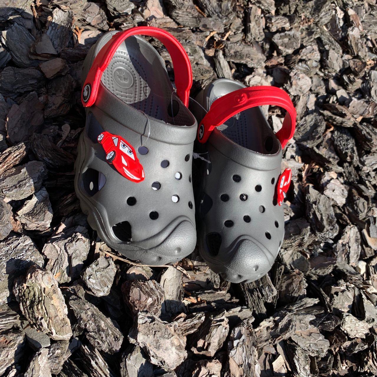 Кроксы - сабо для мальчика, размеры 5-12 лет
