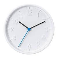 Часы IKEA STOMMA 20 см Белый (003.741.36)