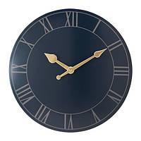 Часы IKEA POLLETT 45 см Темно-синий (503.578.65)