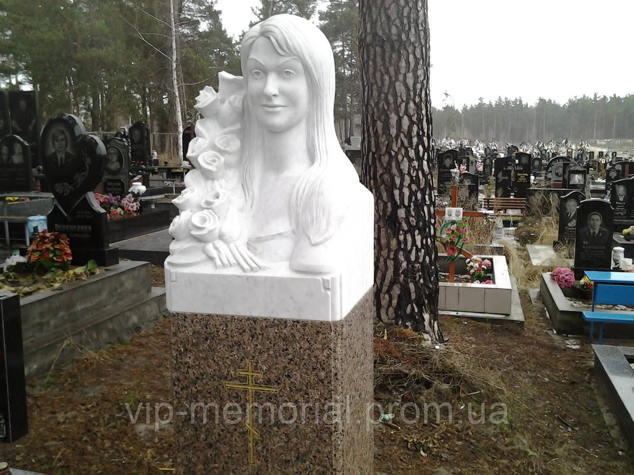 Скульптура на кладбище С-201