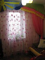 Ламбрекен для детской. Сфотографировал заказчик у себя дома г. Сумы