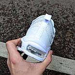 Мужские кроссовки Nike Air Max 97 White белые . Живое фото (Реплика ААА+), фото 3