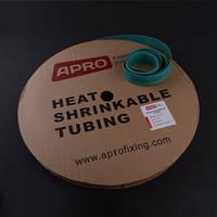 Термоусаживаемая трубка 12мм зеленый 100м APRO
