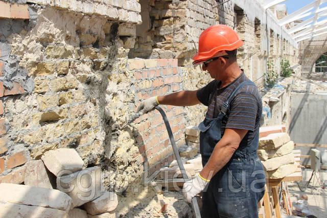 Minotop 25 (укрепление каменной и кирпичной кладки, заполнение пустот)