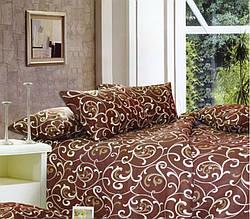 Двуспальный комплект постельного белья ТМ Билтекс (Белорусская бязь), Завитки