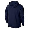 Спортивная мужская кофта Jordan, синяя, фото 2