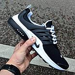 """Мужские кроссовки Nike Air Presto """"Black"""" черные в сетку. Живое фото (Реплика ААА+), фото 2"""