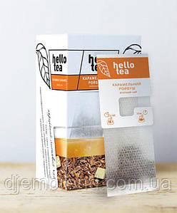 Чай пакетированный Hello tea Rooibos caramel 20шт Ройбуш с карамелью