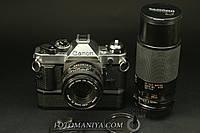 Canon AE-1 Program Canon nFD 50mm f1,8 + Tamron Adaptal II 80-210mm f3.8-4.0 + winder  , фото 1