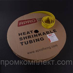 Термоусаживаемая трубка 1,5мм желтый 200м APRO