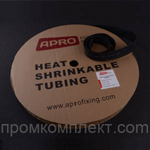 Термоусаживаемая трубка 1мм черный 200м APRO
