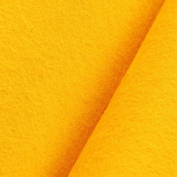 Фетр 50х85 см 1мм светло-оранжевый