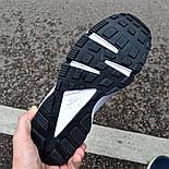 Мужские кроссовки Nike Huarache Black&White черные с белым . Живое фото (Реплика ААА+), фото 3