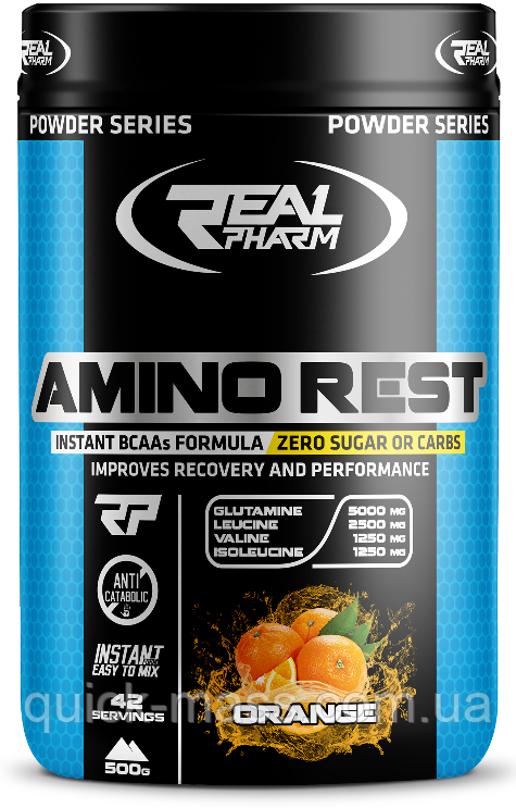 БЦАА Amino Rest Real Pharm 500g