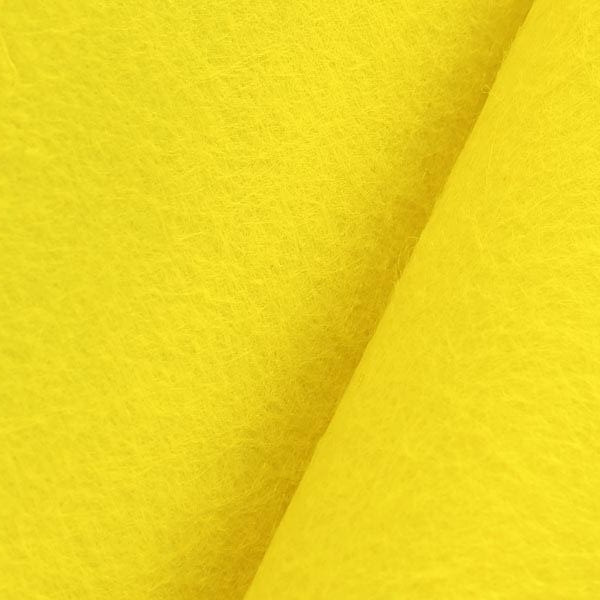 Фетр 50х85 см 1мм желтый
