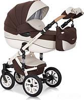 Дитяча універсальна коляска 3 в 1 Riko Brano Ecco 13 Chocolate, фото 1