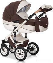 Дитяча універсальна коляска 3 в 1 Riko Brano Ecco 13 Chocolate
