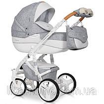 Дитяча універсальна коляска 3 в 1 Riko Brano Luxe 05 Grey Fox