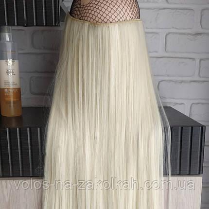 Одиночная широкая прядь цвет №613 блонд с желтинкой, фото 2