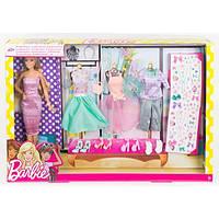 Игровой набор Barbie модница с набором одежды болле 40 аксессуаров (Y7505)