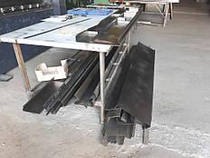 Листозгин 60 тонн 2500 мм гідравлічний з ЧПУ Прес гибочний Кромкогиб 2