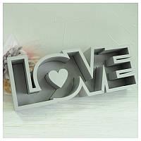 Пенобокс для цветов - Love 50*18,5*10