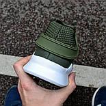 "Мужские кроссовки Adidas EQT Support ADV ""Khaki"" хаки в сетку. Живое фото (Реплика ААА+), фото 4"