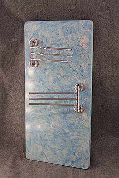 КЕН-Рушникосушарка Гранд аквамариновий 1425RS4GD613T2, фото 2