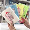 Салфетки безворсовые тканевые УПЛОТНЁННЫЕ (Цветные), 900 шт