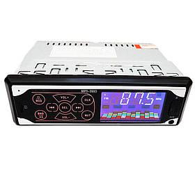 Автомагнитола MP3 3883 ISO 1DIN  сенсорный дисплей