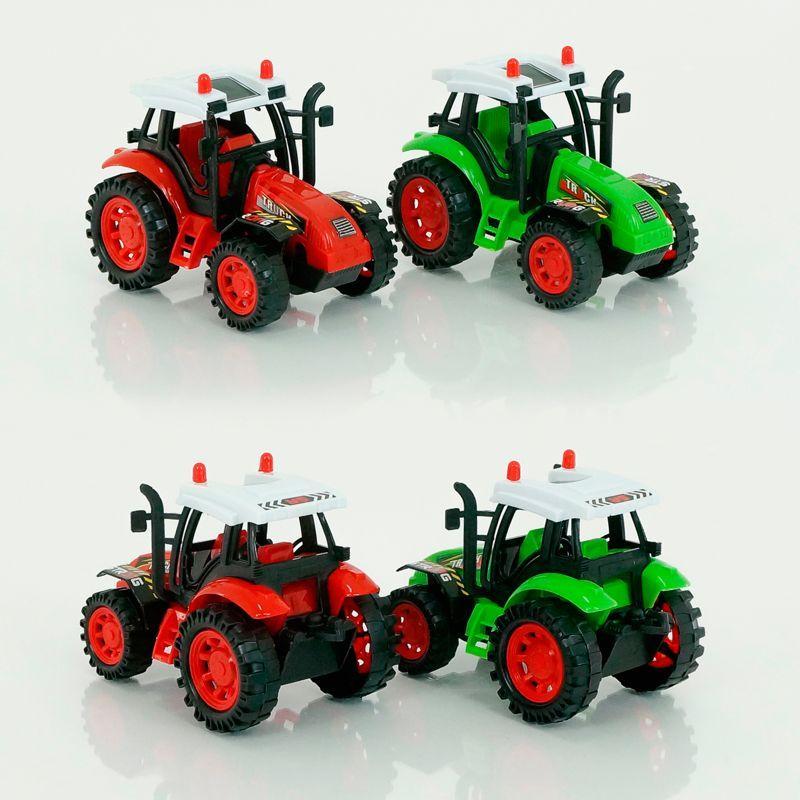 Трактор 2 цвета, инерция, 2009-61
