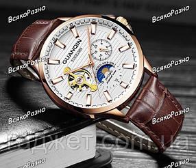 Мужские механические наручные часы GUANQIN
