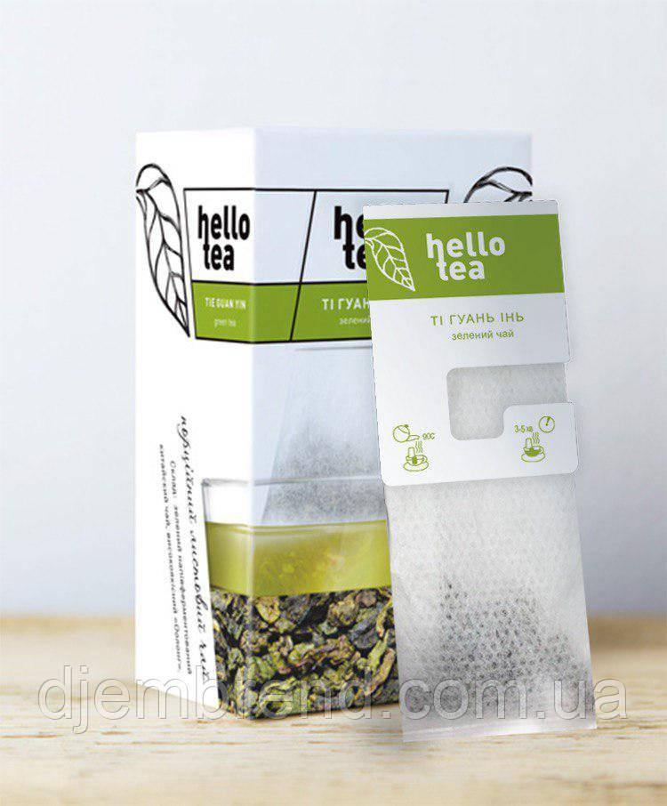 Чай пакетированный Hello tea Tie Guan Yin 20 шт. Зеленый