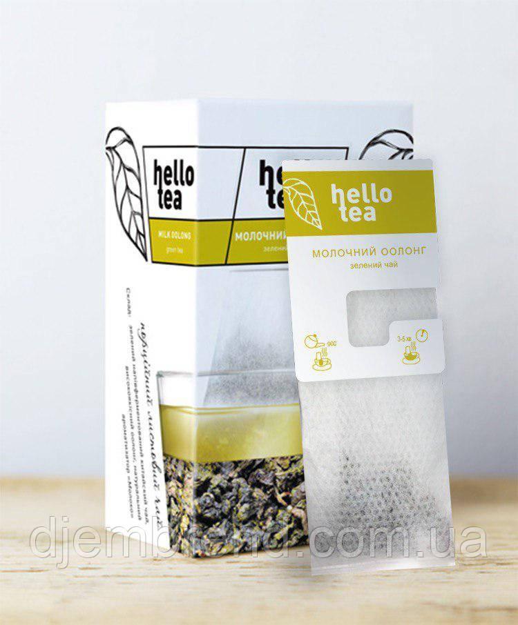 Чай пакетированный Hello tea Oolong milk 20шт Молочный улун
