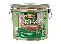 Масло для террас с воском Aura Terrace 2,7л Бесцветный