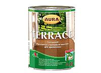 Масло для террас с воском Aura Terrace 0.9л Бесцветный